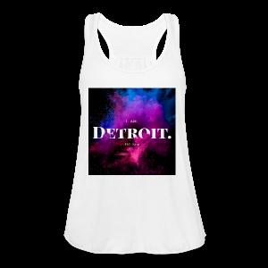 I. AM. DETROIT. ASTRO - Women's Flowy Tank Top by Bella