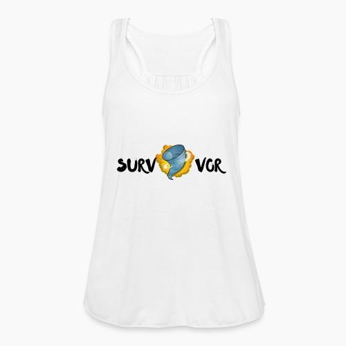 Survivor - Women's Flowy Tank Top by Bella