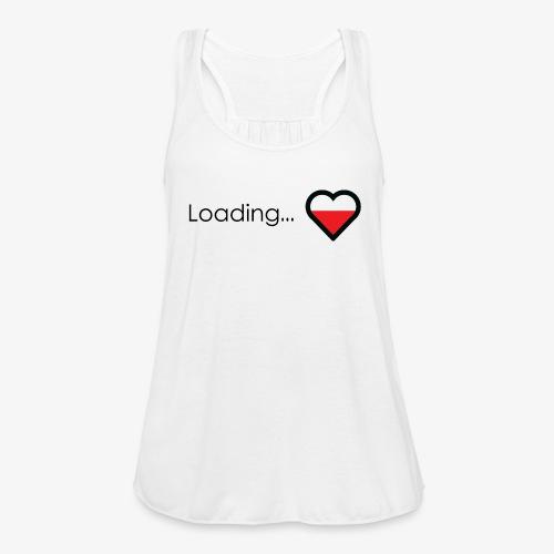 Loading heart - Women's Flowy Tank Top by Bella