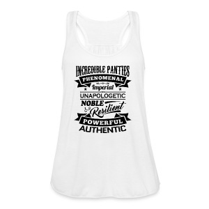 Incredible Panties Signature - Women's Flowy Tank Top by Bella