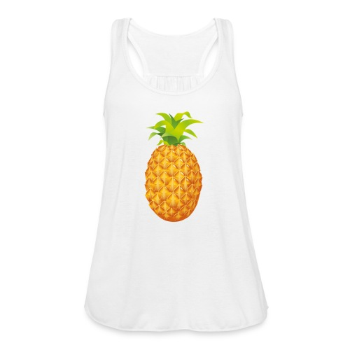 Pineapple - Women's Flowy Tank Top by Bella