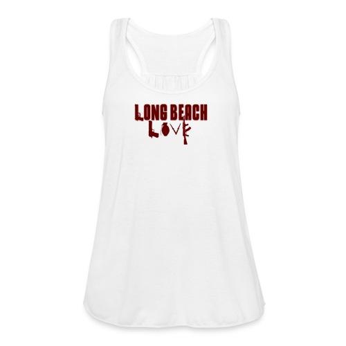 Long Beach Love - Women's Flowy Tank Top by Bella