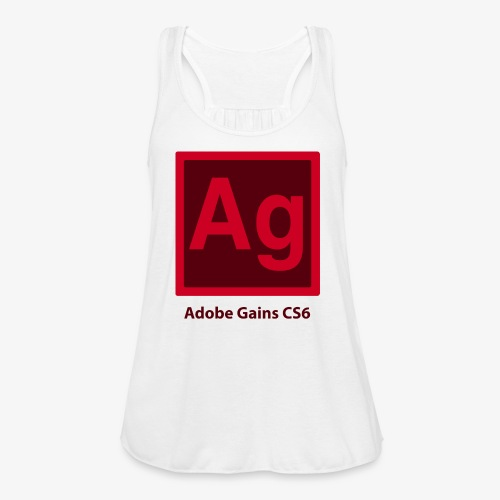 adobe gains - Women's Flowy Tank Top by Bella