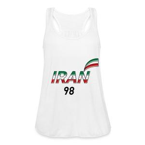 Iran's France 98 20th Anniversary Tee - Women's Flowy Tank Top by Bella