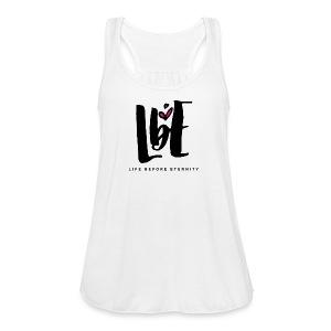 lbe alt logo 5000px png - Women's Flowy Tank Top by Bella