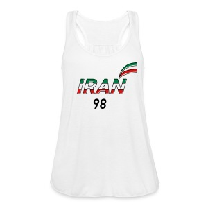 Iran's France 98 20th Anniversary Tee - Women's Flowy Tank Top by Bella