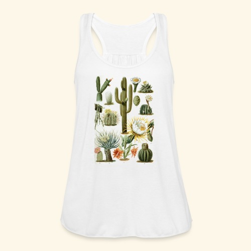 Cactus Vibes - Women's Flowy Tank Top by Bella