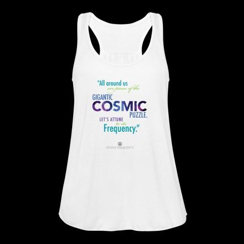 Cosmic Puzzle Mug - Women's Flowy Tank Top by Bella