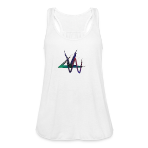 Variance Just the logo - Women's Flowy Tank Top by Bella