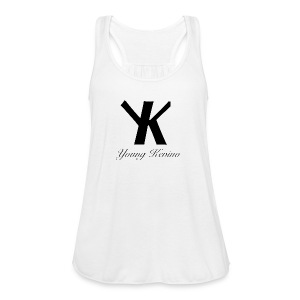 Young Kevino Official Logo (Black) - Women's Flowy Tank Top by Bella