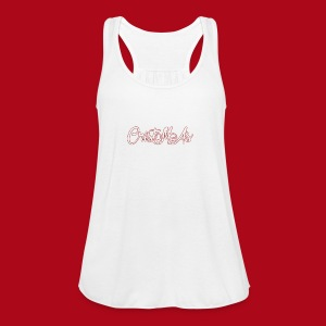 Christmas TEXT - Women's Flowy Tank Top by Bella