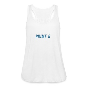 Prime 5 Text Logo - Women's Flowy Tank Top by Bella