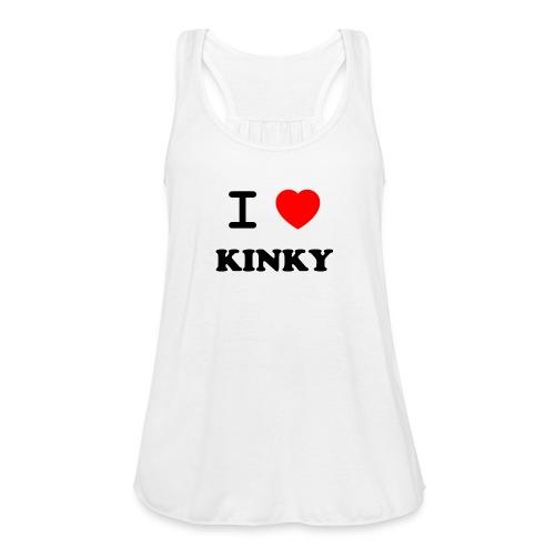 I Love Kinky - Women's Flowy Tank Top by Bella
