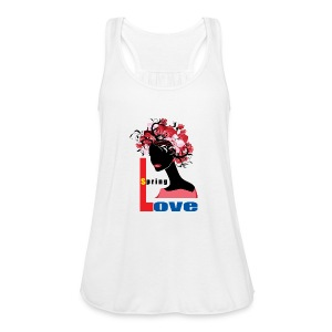 Spring Season Tshirt - Women's Flowy Tank Top by Bella