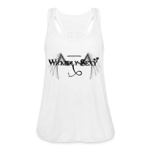 Wickedly Sexy Black - Women's Flowy Tank Top by Bella
