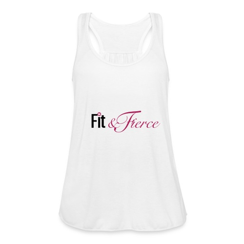 Fit Fierce - Women's Flowy Tank Top by Bella