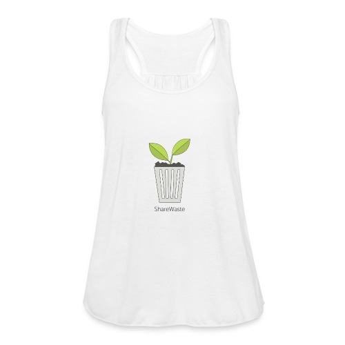 ShareWaste logo - Women's Flowy Tank Top by Bella