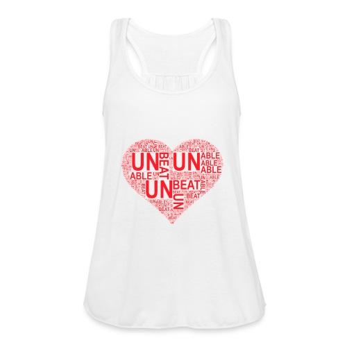 unbeatableMe - Women's Flowy Tank Top by Bella