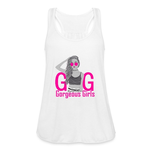 Gorgeous Girls - Women's Flowy Tank Top by Bella