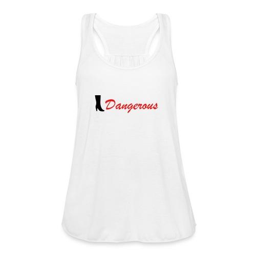 Black&Red Women's T-Shirt Edition Dangerous 👠 - Women's Flowy Tank Top by Bella