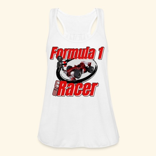 Formula 1 Sim Racer - Women's Flowy Tank Top by Bella