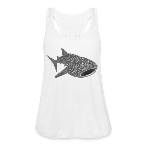 save the whale shark sharks fish dive diver diving - Women's Flowy Tank Top by Bella