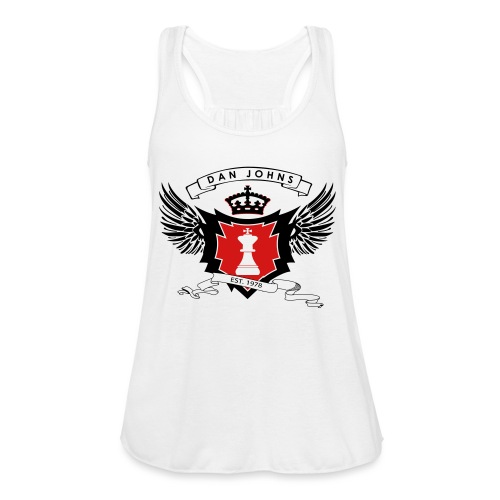 danjohnsawlogo - Women's Flowy Tank Top by Bella