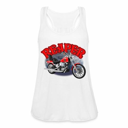 Motorcycle Reaper - Women's Flowy Tank Top by Bella