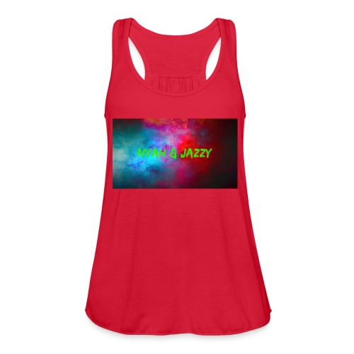 NYAH AND JAZZY - Women's Flowy Tank Top by Bella