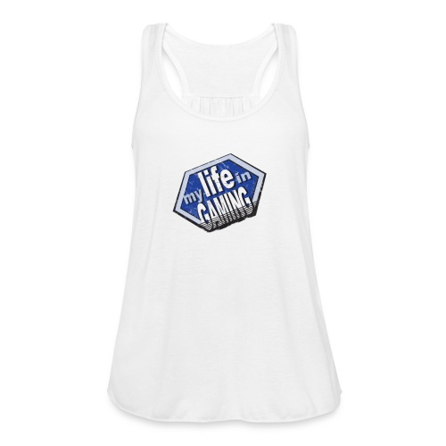 My Life In Gaming sticker - Women's Flowy Tank Top by Bella