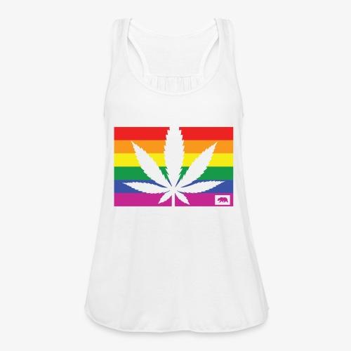 California Pride - Women's Flowy Tank Top by Bella
