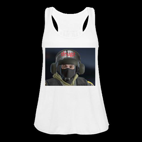 bandit drugz - Women's Flowy Tank Top by Bella