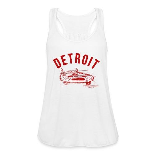 Detroit Art Project - Women's Flowy Tank Top by Bella