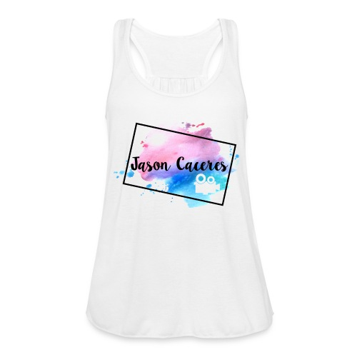Jason Caceres Opening Intro Logo - Women's Flowy Tank Top by Bella