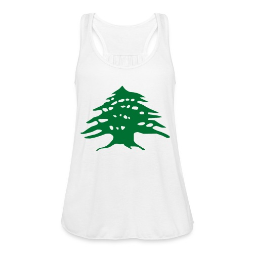 Lebanese Pride Shirt - Women's Flowy Tank Top by Bella