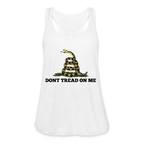 GADSDEN DONT TREAD ON ME - Women's Flowy Tank Top by Bella