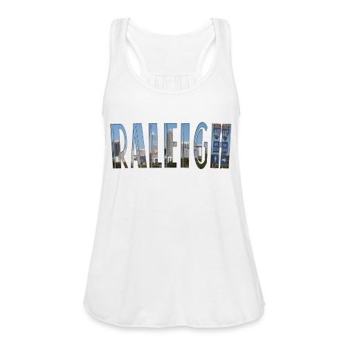 Raleigh Skyline Fall - Women's Flowy Tank Top by Bella