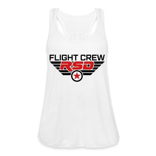 RSD Flight Crew - Women's Flowy Tank Top by Bella