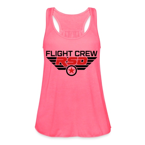 RSD Flight Crew - Women's Flowy Tank Top by Bella