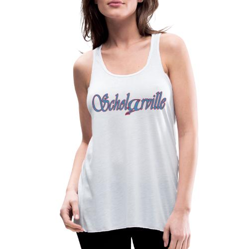 Welcome To Scholarville - Women's Flowy Tank Top by Bella