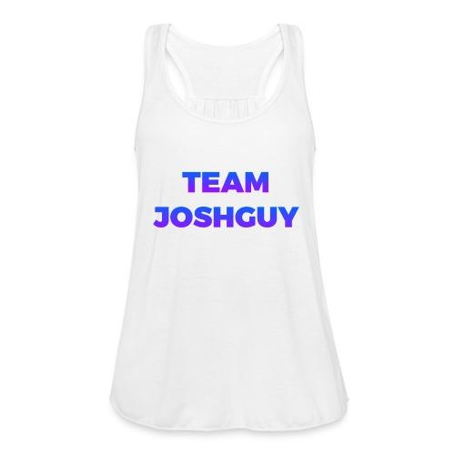 Team JoshGuy - Women's Flowy Tank Top by Bella