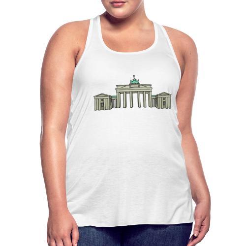 Brandenburg Gate Berlin - Women's Flowy Tank Top by Bella