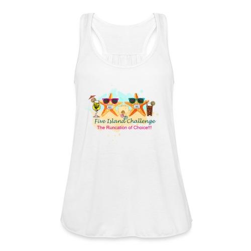 Five Island Challenge - Women's Flowy Tank Top by Bella