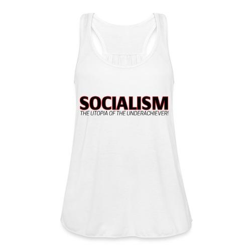 SOCIALISM UTOPIA - Women's Flowy Tank Top by Bella