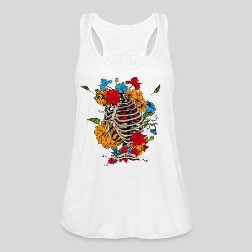 Flowers in my chest - Women's Flowy Tank Top by Bella