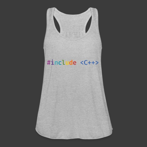 Rainbow Include - Women's Flowy Tank Top by Bella