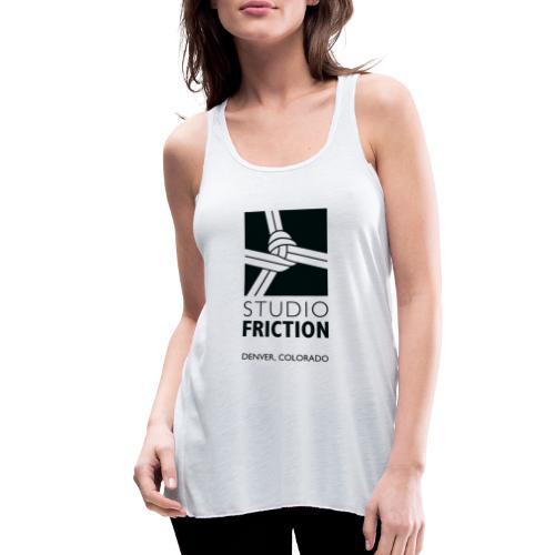 Studio Friction Black - Women's Flowy Tank Top by Bella