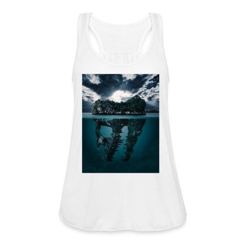 Lost Sea - Women's Flowy Tank Top by Bella