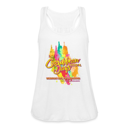 Caribbean Days Festival = Hot! Hot! Hot! - Women's Flowy Tank Top by Bella