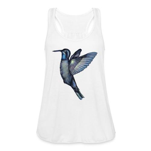 Hummingbird in flight - Women's Flowy Tank Top by Bella